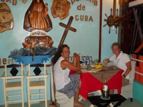 Restaurante Las terrazas, Baracoa, Cuba