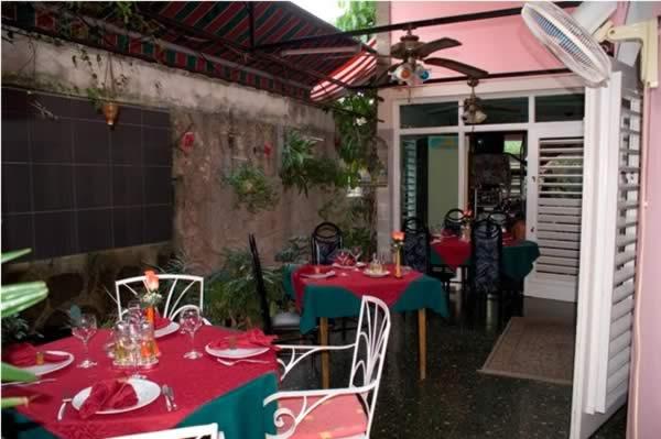 Restaurant La Casa,Havana,Cuba