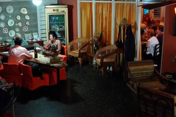 Restaurante La casa,Habana,Cuba