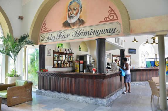 wooden bar lobby bar
