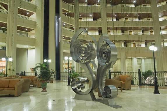 Lobby y recepción del hotel Blau Varadero