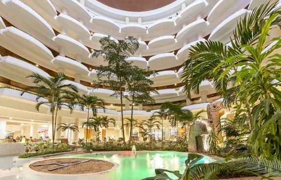 Interior of the lobby of the Melia Varadero hotel
