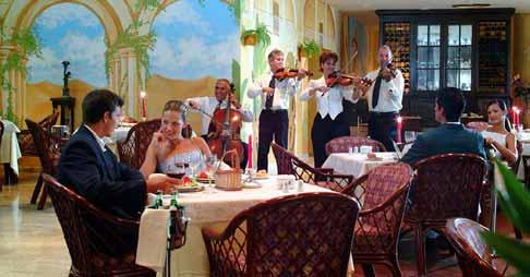 Gourmet restaurant at the Melia Varadero Hotel