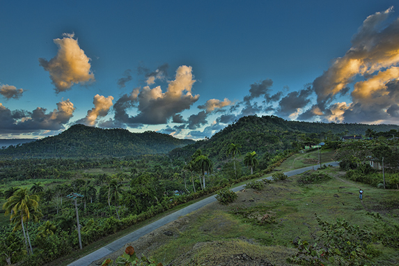 Mountains and natural landscapes in Baracoa
