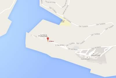 Restaurante El Morro, Sgo de Cuba, Cuba,mapa