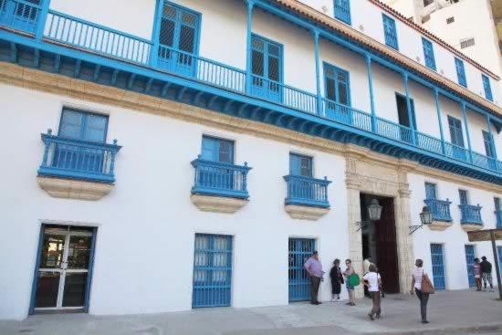 Palace of crafts. Old Havana, Cuba
