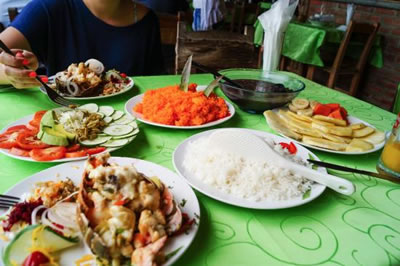 Restaurant Casa del campesino,Pinar del rio, Cuba