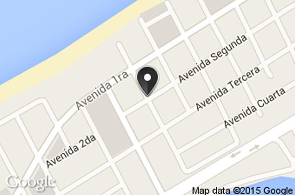 Restaurante Pequeno Suares,varadero, Cuba,mapa