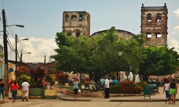 Parque Independencia,Baracoa, Cuba