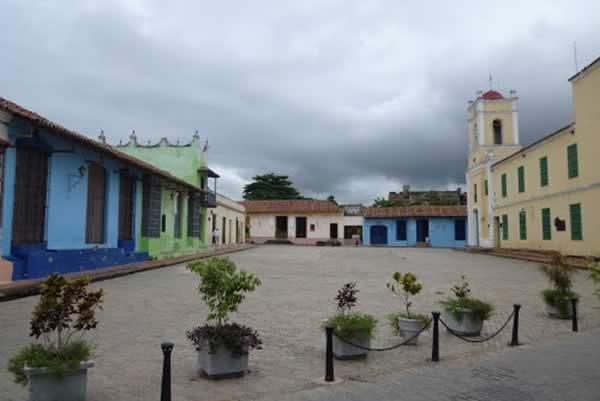 Plaza San Juan de Dios,Camaguey,Cuba