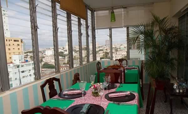 Restaurant Porto habana, La Havana, Cuba