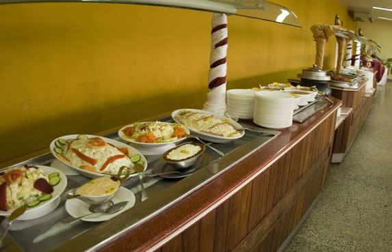 buffet restaurant food