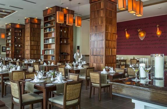 Hotel specialized restaurant
