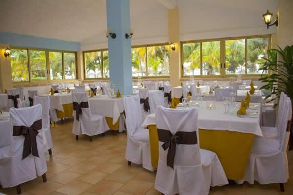 hotel restaurant view