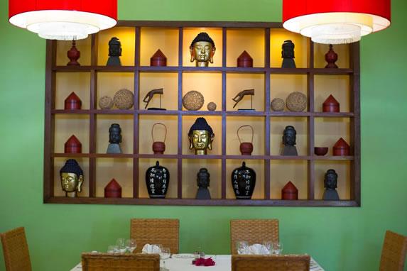 Hotel restaurant decoration