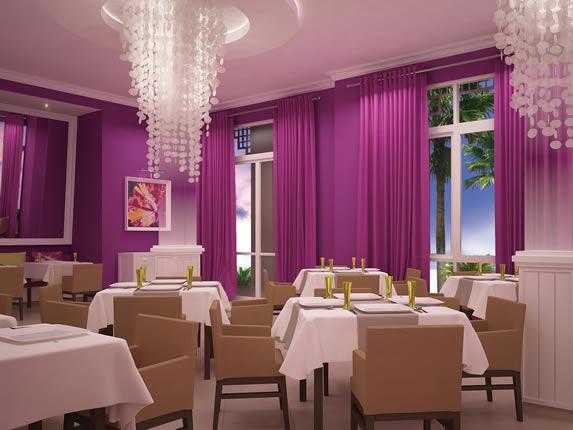 Restaurante especializado en el hotel Angsana