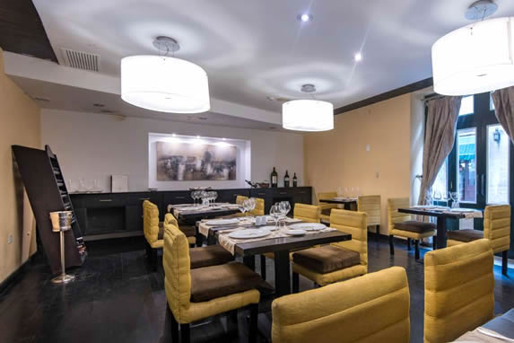 Restaurant inside the hotel