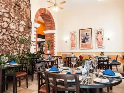 Hotel Encanto Barcelona restaurant ,Remedios, Cuba