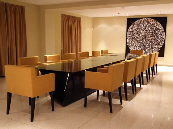 Meeting room in the hotel