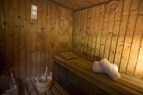 Sauna del hotel Occidnetal Miramar