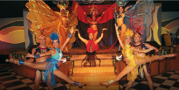 Night show at the Barcelo Solymar hotel