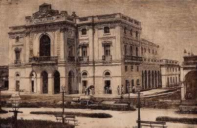 La Caridad Theater in 1885, villa clara, cuba