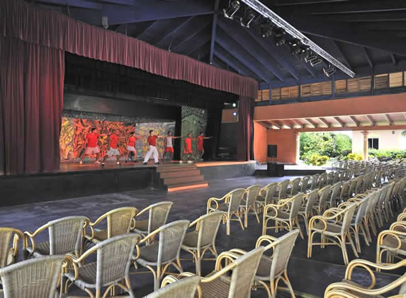 theater with stage and show