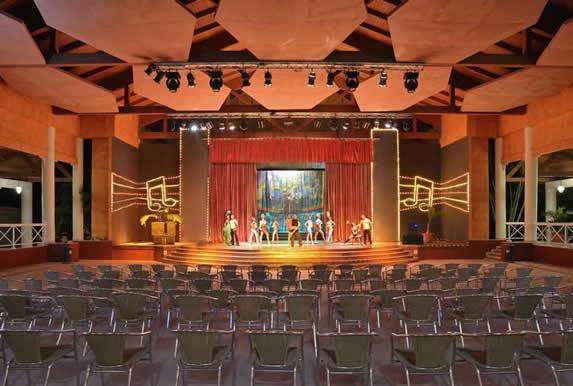 Theater at the Sol Rio de Luna y Mares hotel