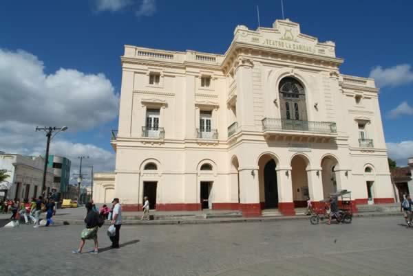 La Caridad Theater, villa clara, cuba
