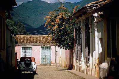 Trinidad Street,Trinida city, Cuba
