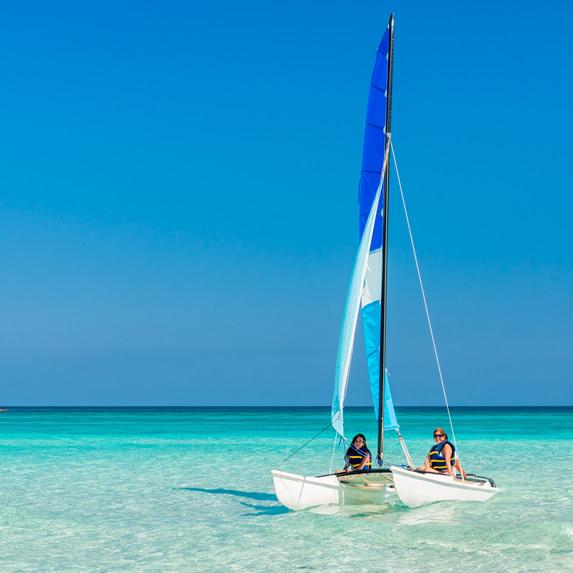 Catamaran ride along the beaches of  Varadero