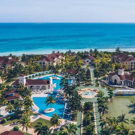 Aerial view of the Playa Alameda hotel