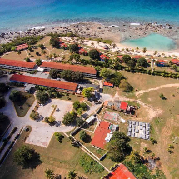 hotel aerial view