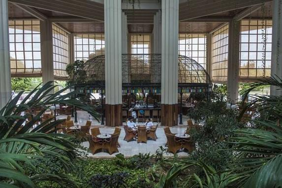 Bar del lobby del hotel Blau Varadero