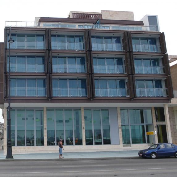 Terral hotel facade