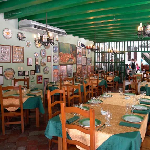 Vista restaurante del hotel
