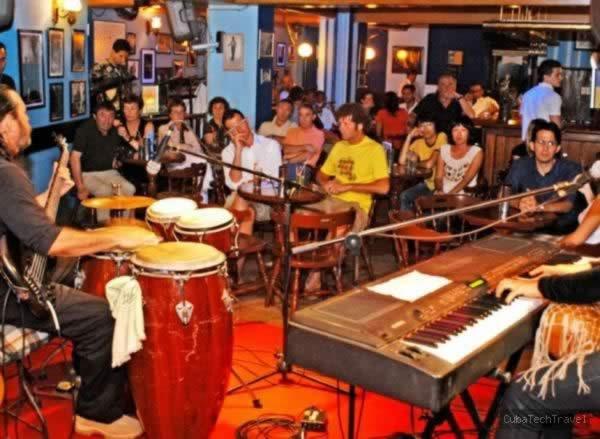 Jazz club La zorra y el cuervo, Hav,Cuba
